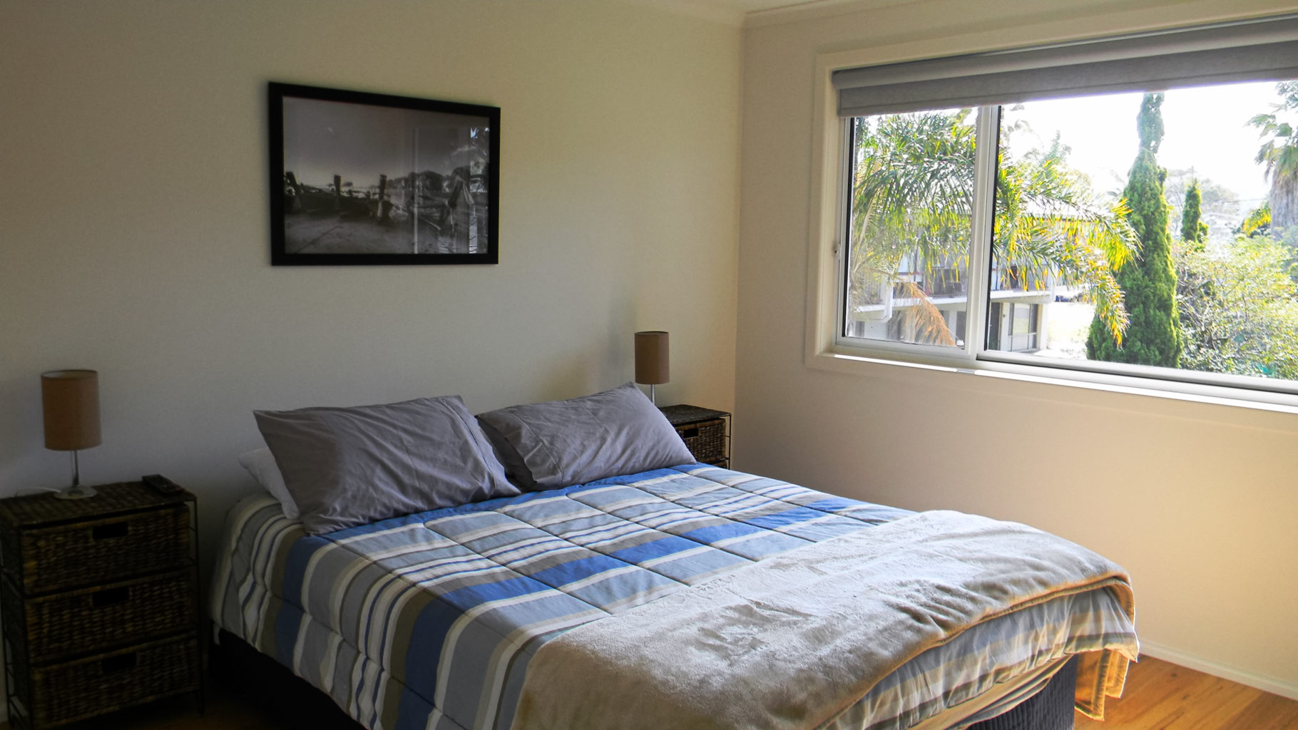 Fishpen Haven Upstairs bed