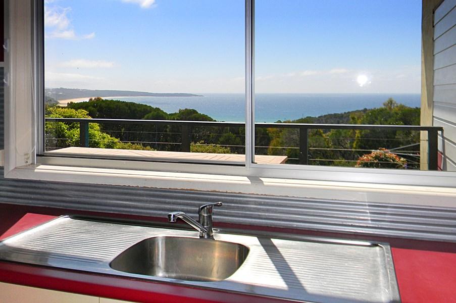 Whale Watcher Kitchen View